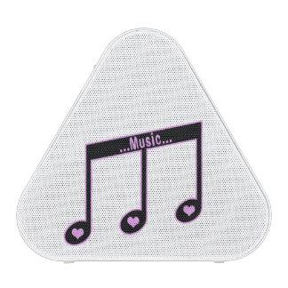 Enceinte Bluetooth Motif notes music Bluetooth Speaker