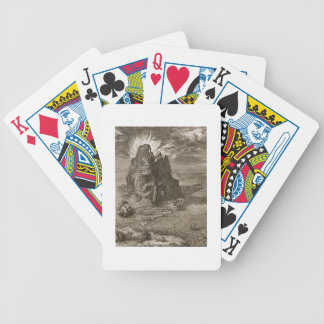 Enceladus Buried Underneath Mount Etna, 1731 (engr Bicycle Playing Cards
