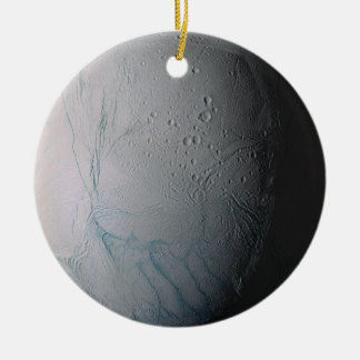 Enceladus Ceramic Ornament