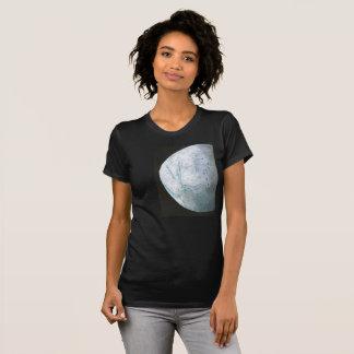 Enceladus t-shirt, Women's dark, fitted T-Shirt