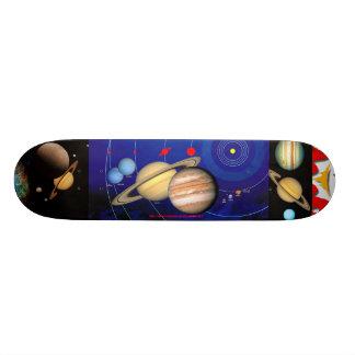 """ENCELATUS & SATURN in SPACE"" Skateboard Deck"