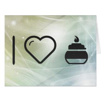 Encendedor fresco tarjeta de felicitación grande