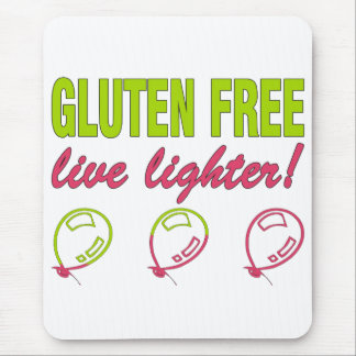 ¡Encendedor vivo libre del gluten! Alergia del Alfombrilla De Raton
