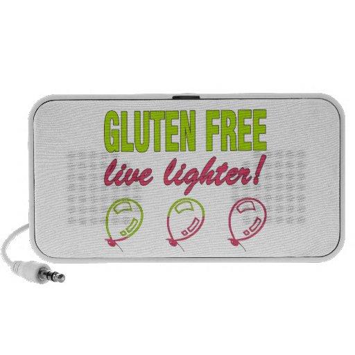 ¡Encendedor vivo libre del gluten! Alergia del glu Mini Altavoces