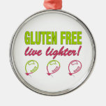 ¡Encendedor vivo libre del gluten! Alergia del glu Ornamento De Reyes Magos