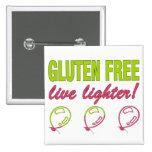 ¡Encendedor vivo libre del gluten! Alergia del glu Pins