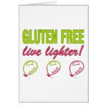¡Encendedor vivo libre del gluten! Alergia del glu Felicitaciones