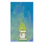 Encendemos una vela y damos a gracias arte inspira tarjetas de visita