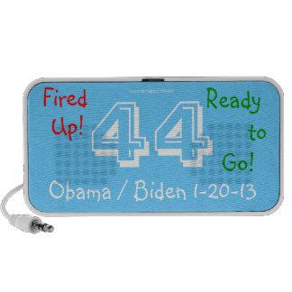 ¡Encendido para arriba ¡Obama 44 Biden 3D encendi Notebook Altavoces