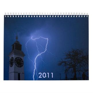 encendiéndose - noche tempestuosa, 2011 calendario