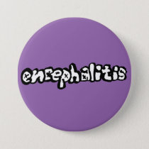 Encephalitis Button (version 1 on purple)