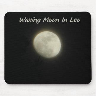 Encerar la luna en Leo Alfombrilla De Ratón