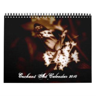Enchant Art Calendar 2010