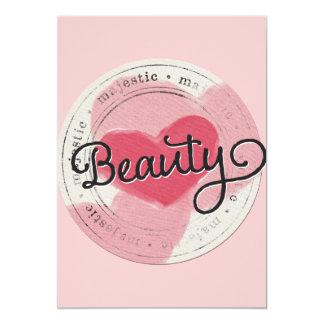 enchant-circle-beauty PRECIOUS PINK BEAUTY MAJESTI Card