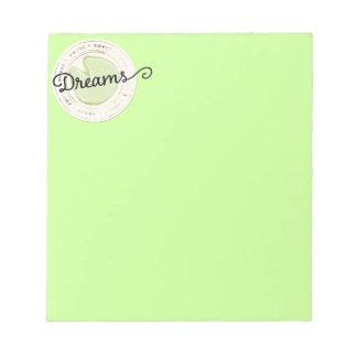 enchant-circle-dreams SWEET BEAUTY MOTIVATIONAL FA Memo Note Pad