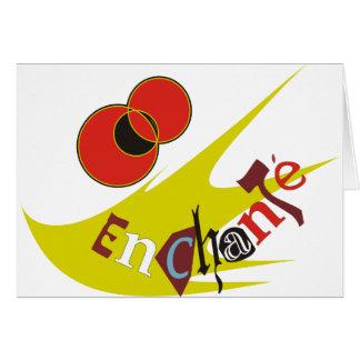 ENCHANTE GREETING CARD
