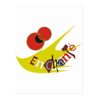 ENCHANTE POSTCARD