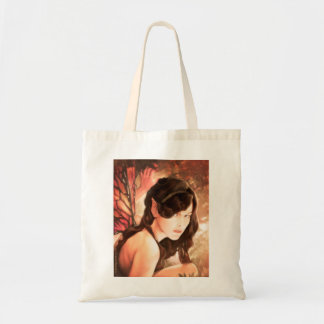 Enchanted Autumn Fairy Tote Bag
