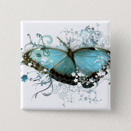 Enchanted Blue Button