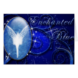 Enchanted Blue Card