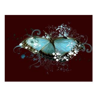 Enchanted Blue Postcard