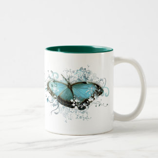 Enchanted Blue Two-Tone Coffee Mug