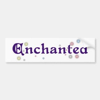 Enchanted Bumper Sticker