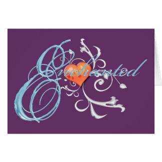 Enchanted Card