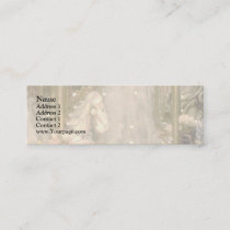 Enchanted Carousel Mini Business Card