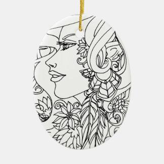 Enchanted Ceramic Ornament