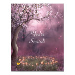 Enchanted Cherry Blossom Garden Event Invite