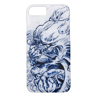Enchanted Chinese Moon Dragon Art Nouveau iPhone 8/7 Case