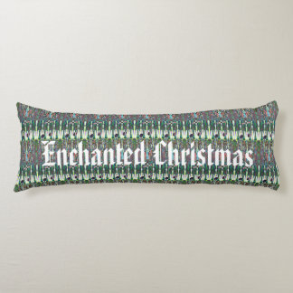 Enchanted Christmas Patterned Body Pillow