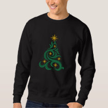 Enchanted Christmas Tree Embroidered Sweatshirt