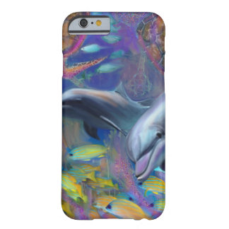 Enchanted Dolphines Barely There iPhone 6 Case