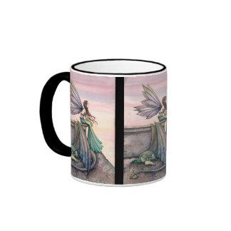 Enchanted Dusk Fairy Dragon Mug