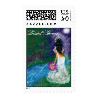 Enchanted Evening Bridal Shower Postage