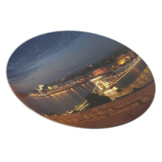 Enchanted Evening in Budapest Plates