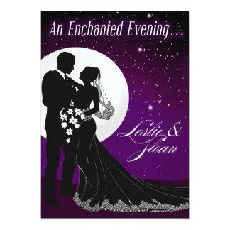 Enchanted Evening Nighttime Wedding Invitation
