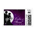 Enchanted Evening Nighttime Wedding Stamp