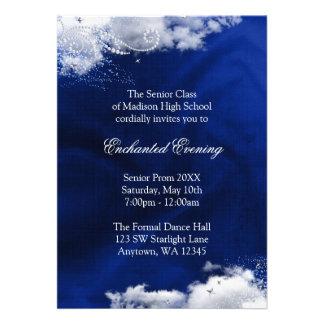Enchanted Evening Prom Formal Invitations