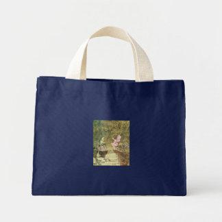 Enchanted Fairies & Frogs Mini Tote Bag