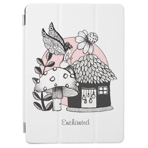Enchanted Fairy And Fairy House iPad Air Cover