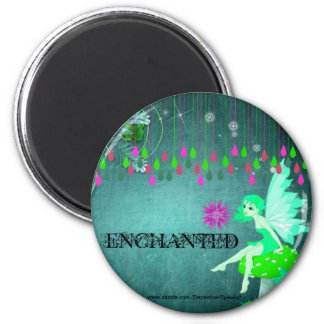 Enchanted fairy magnet