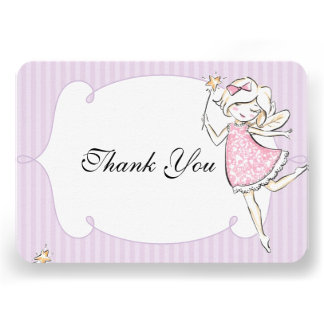 Enchanted Fairy Princess Birthday Party Tag Personalized Invite