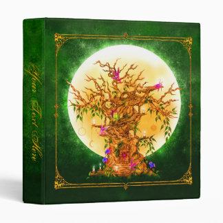 Enchanted Fantasy Fairy Tree 1 1/2  Inch Binder