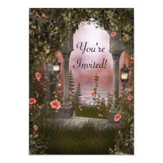 Enchanted Floral Garden Event Invite