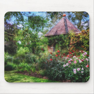 Enchanted Flower Garden Mouse Pad
