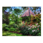 Enchanted Flower Garden Post Card