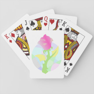 Enchanted Flower. Playing Cards